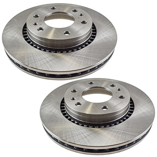 Front Brake Rotor Pair Kit for Envoy Trailblazer Ascender Rainier ()
