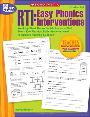 RTI: Easy Phonics Interventions: Week-by-Week Reproducible Lessons ...