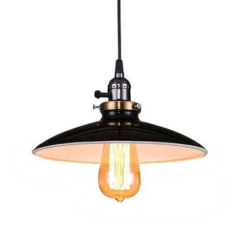 Lightsjoy Lámpara de Techo Colgante Vintage Industrial ...