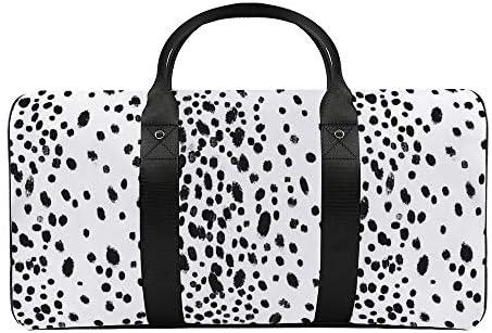 ロイヤルドット1 旅行バッグナイロンハンドバッグ大容量軽量多機能荷物ポーチフィットネスバッグユニセックス旅行ビジネス通勤旅行スーツケースポーチ収納バッグ