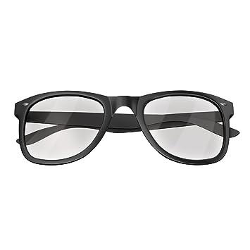 871303fdfa Mars Gaming MGL1 - Gafas protectoras para gaming (diseño retro, cristal  transparente, lentes de policarbonato, filtro luz azul) color negro:  Amazon.es: ...