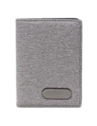 Vedicci Porta Pasaporte de Tela. Funda con Compartimentos para Pasaporte, Visa y Tarjetas. Passport Holder. Medidas 10.5 X 14.5 cms. Passport Holder.