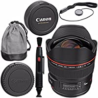 Canon EF 14mm f/2.8L II USM Lens 2045B002 + Lens Pen Cleaner Bundle