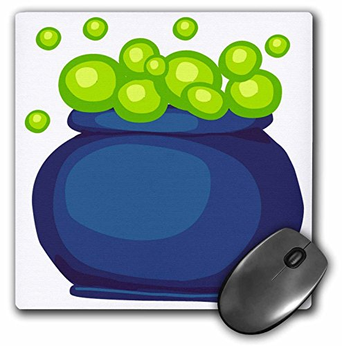 3dRose Blonde Designs Happy and Haunted Halloween - Halloween Bubbling Cauldron - MousePad (mp_131041_1) for $<!--$11.99-->