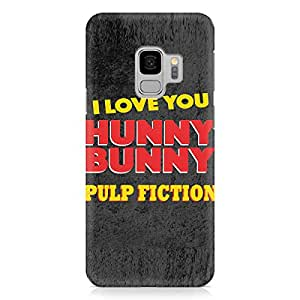 Loud Universe Honey Bunny Quote Samsung S9 Case pulp Fiction Style Samsung S9 Cover with 3d Wrap around Edges