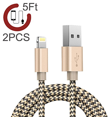 lightning-cablezeuste-nylon-braided-iphone-cord-charging-cable-5ft-15m2-pack-gold