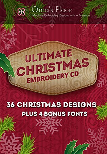 Oma's Place The Ultimate Christmas Embroidery CD