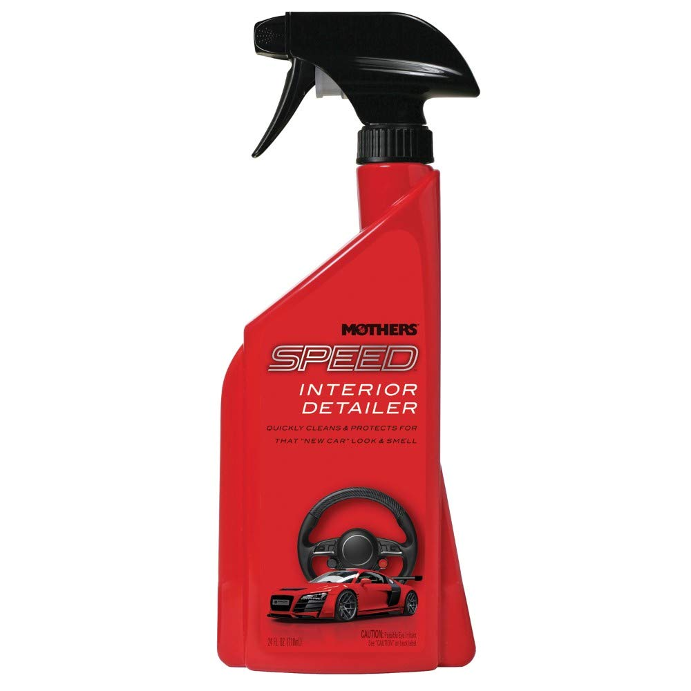 Mothers 18324 Speed Interior Detailer, 24 fl. oz