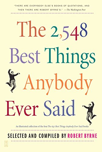 The 2,548 Best Things Anybody Ever - Studio Catalogue Blue