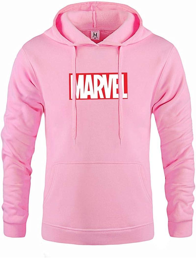 Mens Hoodie Autumn and Winter Sweatshirts Men Letter Printing Fashion Mens Hoodies XL Pink