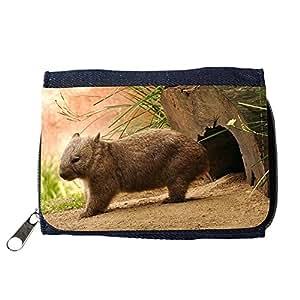 le portefeuille de grands luxe femmes avec beaucoup de compartiments // V00001798 wombat // Purse Wallet
