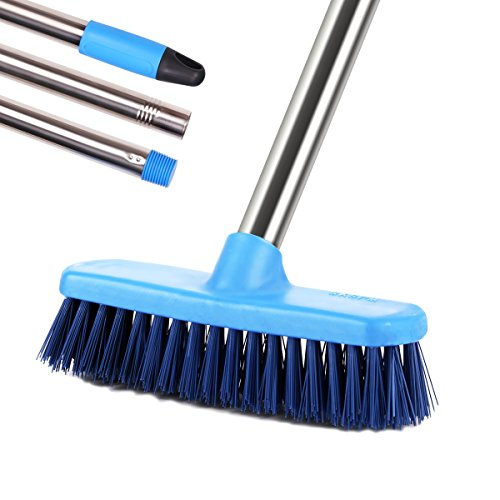 MEIBEI Floor Scrub Brush with Long Handle-47.3