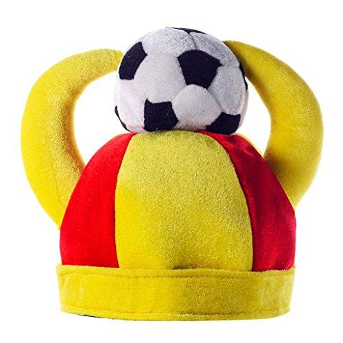 Liangmao 2018 World Cup football Fans supplies bar Ktv Spree Horn hat Support team Ball cap Parties (Color : Spain) by Liangmao