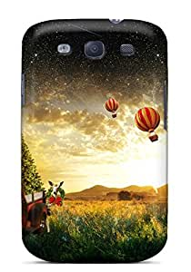 High-quality Durable Protection Case For Galaxy S3(christmas Scenery)