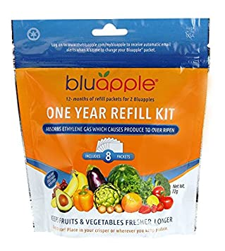 Bluapple One Year Refill Kit (Pack of 8) The Bluapple Company AMAZON REFILL ITEM
