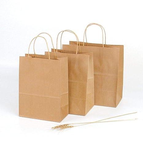 halonzhor Bolsillos marrón Papel Kraft Reciclado Papel Kraft ...