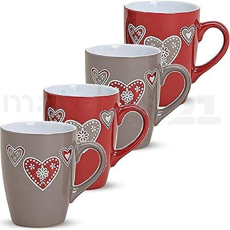 Matches21 Disegno Tazza Mug Tazza Di Caffè Tazza Paese Casa Cuore