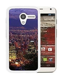 Beautiful Designed Case With Santiago Chile White For Motorola Moto X Phone Case
