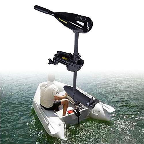 NICE CHOOSE Electric Trolling Motor, 12V 58LBS Fishing Boat Engine Short Shaft Marine Outboard Motor Drive - US Shipping