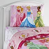 Disney Princess Arrive in Style Reversible Double-Sided Twin Comforter