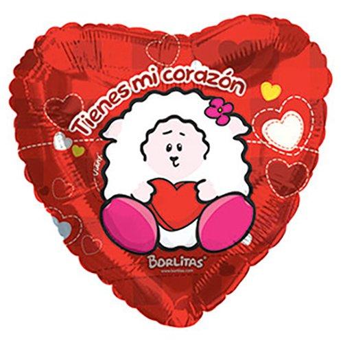 CTI Foil Balloon 217617 VIANY MY CORAZON 17 Multicolored