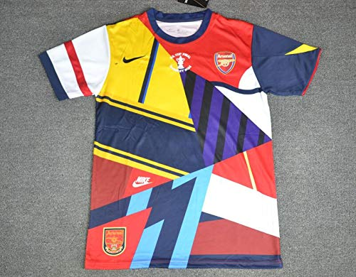 BOOM ARSENAL LIMITED EDITION RETRO SOCCER JERSEY 2014