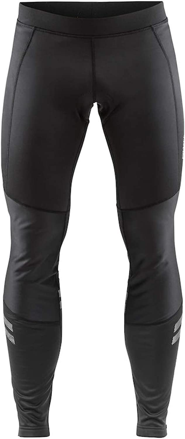 Craft Men's Bike Ideal Wind Tights with Protective C3 Chamois- Wind and Waterproof Cycling Tights