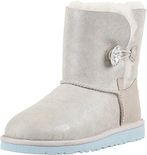 UGG® Australia - Frozen Eiskönigin Prinzessin Elsa Anna Ardenelle Lammfellstiefel Stieffelette 1014279, Weißglitzer (Ice), US 040 / EUR 34