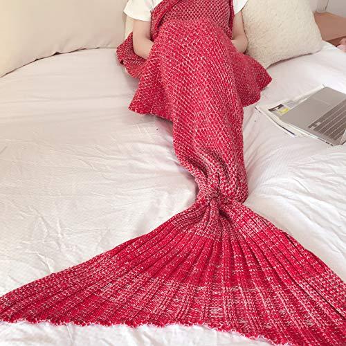 Amazon.com: Manta S-Werthy sirena de punto cola de sirena ...