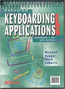 Keyboarding 6e 2010