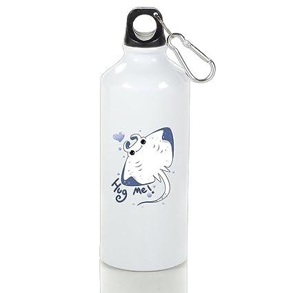 Manta Ray Pretty Aluminum Sports Water Bottle