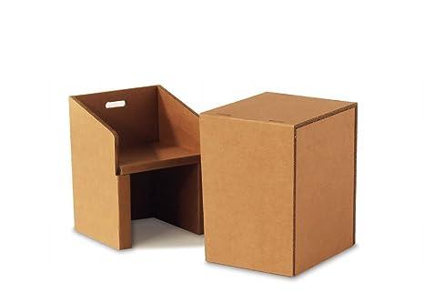 Mobili di cartone ondulato sulle vendite qualità mobili di