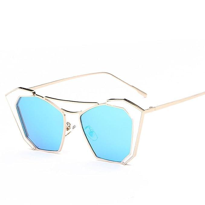 Catwalk Mädchen Bright Fashion Sonnenbrille Sonne Brille Street Druckknöpfen bis Cutesy Gläser, a