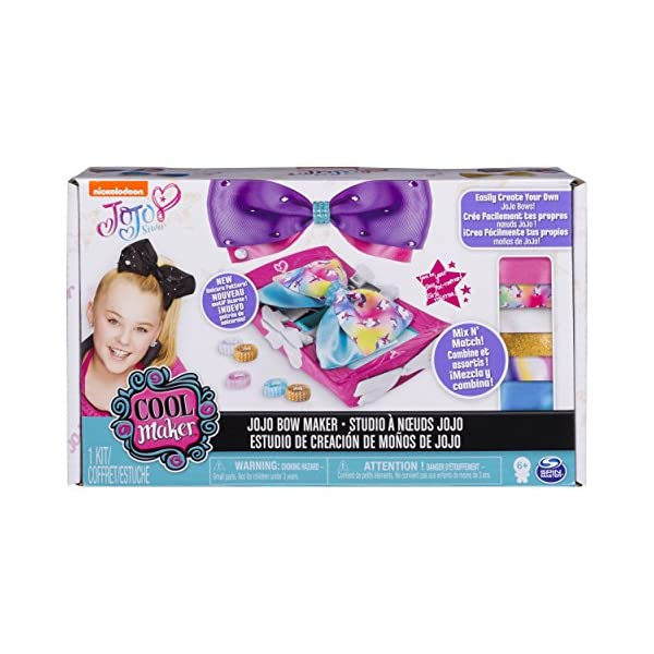 Cool Maker - JoJo Siwa Bow Maker with Rainbow and Unicorn Patterns, for Ages 6 and Up 3