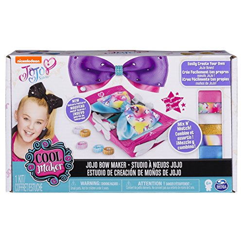 Including Clasp (Cool Maker - JoJo Siwa Bow Maker with Rainbow and Unicorn Patterns, for Ages 6 and Up)