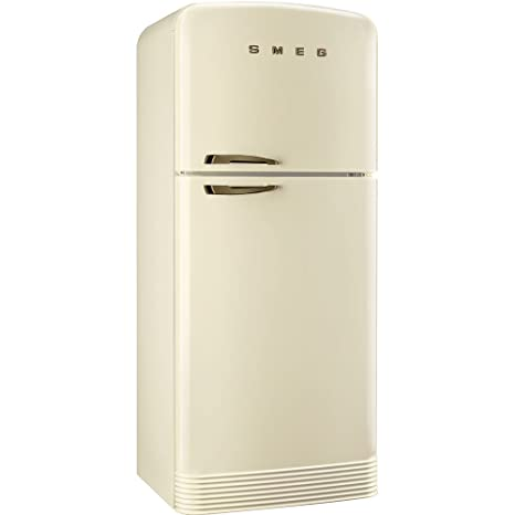 Smeg FAB50RCRB Independiente 412L A++ Crema de color nevera y ...