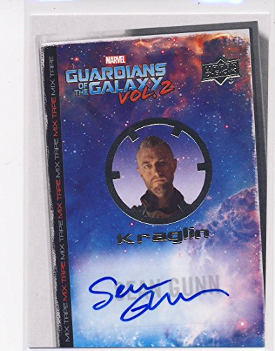 2017 Guardians of the Galaxy Series 2 Trading Card Set Autograph MT5 Sean Gunn