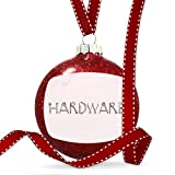 Christmas Decoration Hardware Tools Metal looking Ornament