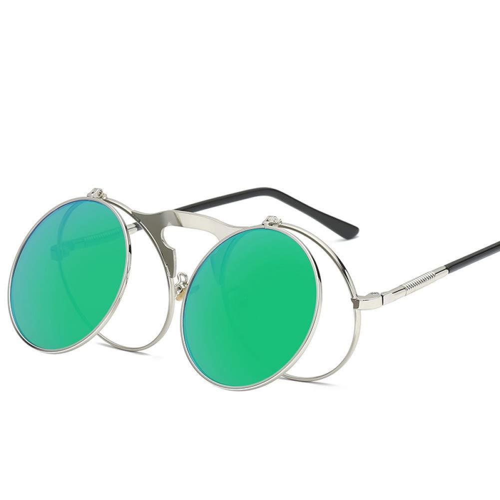 TDPYT Marco Redondo Gafas De Sol Vintage Cara Pequeña ...