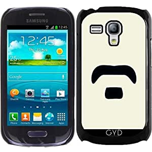 Funda para Samsung Galaxy S3 Mini (GT-I8190) - Bigote by hera56