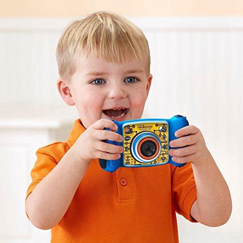 VTech Kidizoom Camera Pix, azul (embalaje sin frustración)
