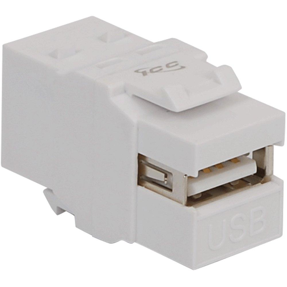 Female to Female A to B ICC Module White IC107UABWH USB