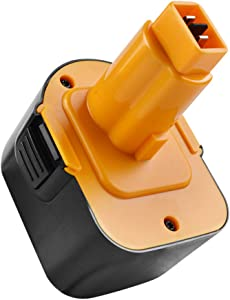 Battool 3.5Ah Ni-MH 12V Replacement Battery for Black and Decker PS130 Battery Pack Compatible with Black & Decker A9252 A9275 PS130 PS130A Firestorm PS130 Power Tool Battery Packs