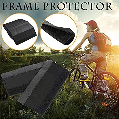 N/Z Sharous 1PCS Outdoor Cycling Bicycle Chain Stay Protector Bike Frame Chain Chainstay Protective Guard Pad Chain Stay Protector: Home & Kitchen