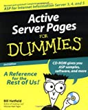 Active Server Pages for Dummies, Bill Hatfield, 076450603X