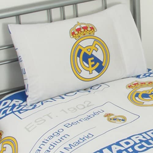 Birthday Gift Idea For Men And Boys A Great Christmas Real Madrid FC Official Football Gift Duvet Set