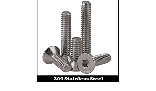 """Qty 20 Countersunk Machine 8-32 UNC x 3//4/"""" Stainless SS 304 Screw CSK Flat BSW"""
