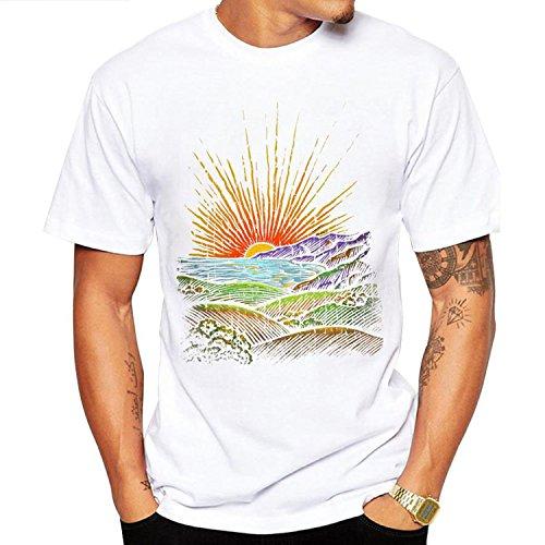 T Hombre Camiseta Jltph shirt Sportswear Corta Para Manga Neck Crew 4 aqORqw