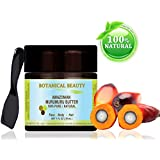 "AMAZONIAN MURUMURU BUTTER 100 % Natural / 100% PURE BOTANICALS. 1 Fl.oz.- 30 ml. For Skin, Hair and Nail Care. ""One of the most unique butters with the highest composition of essential fatty acids and Pro-Vitamin A, helps to restore elasticity to damaged and aging skin."" by Botanical Beauty."