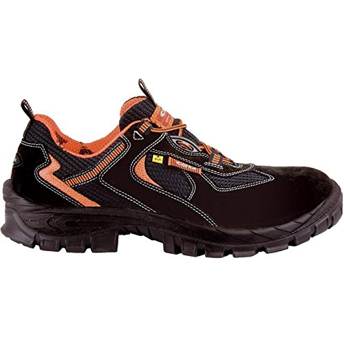 "Cofra 13020–000.w46Talla 46s1P SRC ESD megrez ""zapatos de seguridad, color negro"